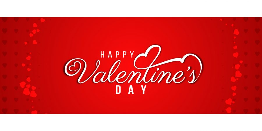 modern valentines day beautiful banner template free vector